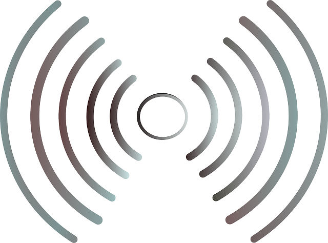 radio waves wifi wireless  u00b7 free vector graphic on pixabay musical clip art images musical clip art for free