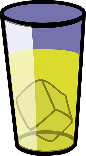 free vector graphic  lemonade  glass  beverage  drink