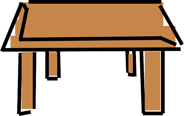 Table furniture desk free vector graphic on pixabay for Tisch school of design