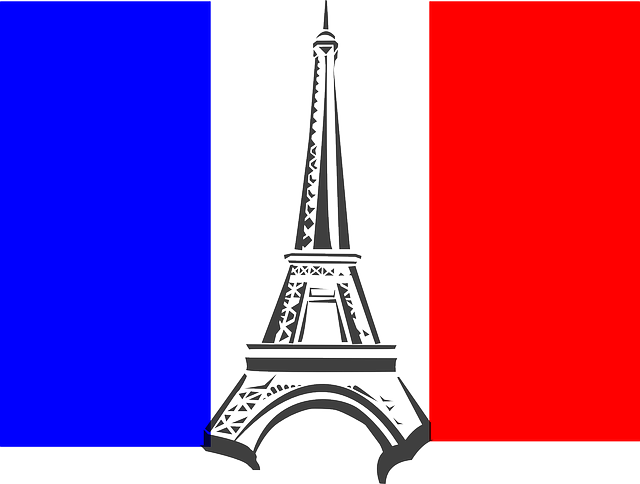 Eiffel Tower France Flag · Free vector graphic on Pixabay