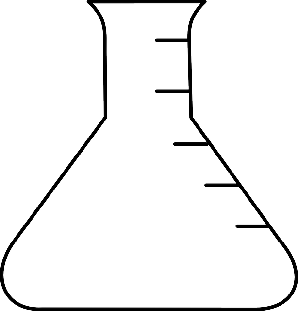 erlenmeyer flask laboratory  u00b7 free vector graphic on pixabay