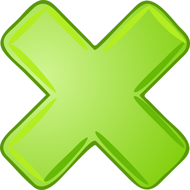 multiply x cancel 183 free vector graphic on pixabay