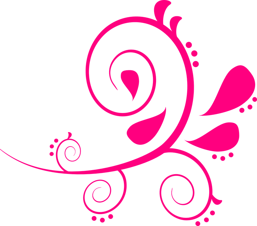 paisley swirls pink free vector graphic on pixabay rh pixabay com vector swirls free vector swirls and flourishes
