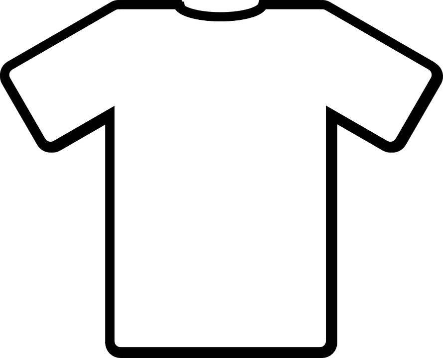 Free vector graphic: T-Shirt, White, Shirt, Front - Free Image on ...
