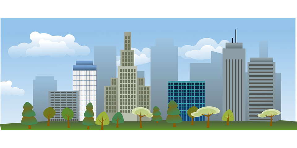 Cityscape Town Architecture - Free vector graphic on Pixabay