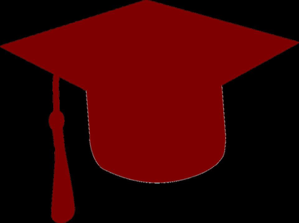 spesso Immagine vettoriale gratis: College, Laurea, Cappello - Immagine  PF63
