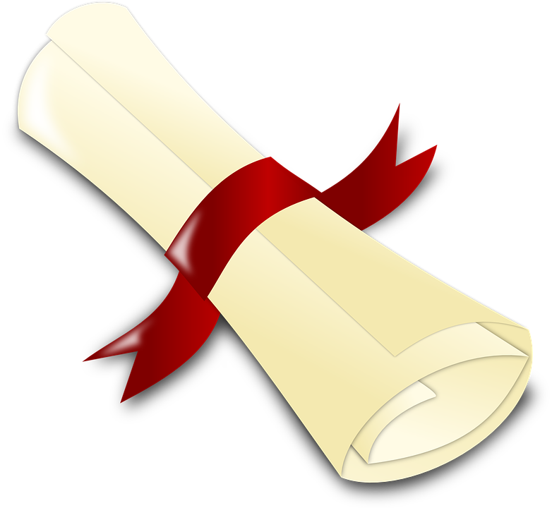 diploma ribbon certificate free vector graphic on pixabay