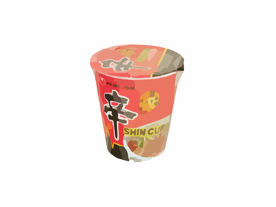 Noodles, Cup, Food, Meal, Lunch, Cuisine, Bowl, Asian