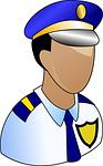 policeman, cop, officer