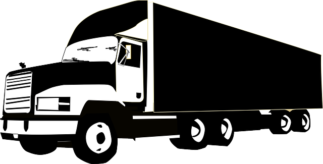 truck lorry cargo  u00b7 free vector graphic on pixabay