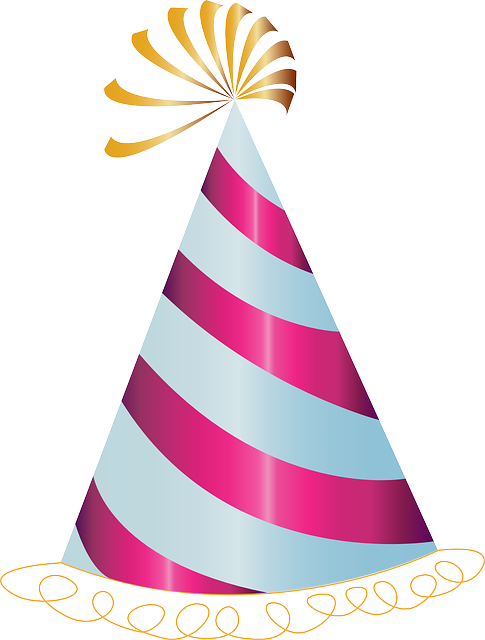 Happy Birthday Hat Party · Free vector graphic on Pixabay