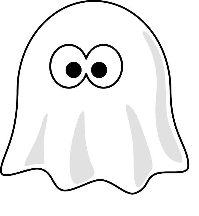 Free Vector Graphic Ghost Halloween Spooky Fear Free