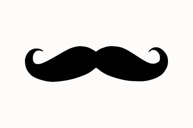Free vector graphic moustache silhouette face hair - Moustache dessin ...