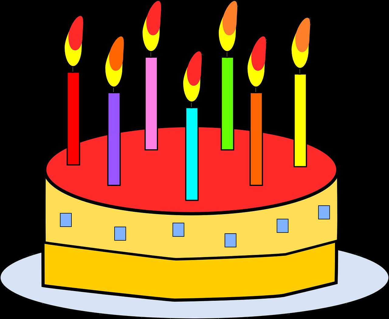 Strange Birthday Cake Food Free Vector Graphic On Pixabay Personalised Birthday Cards Beptaeletsinfo