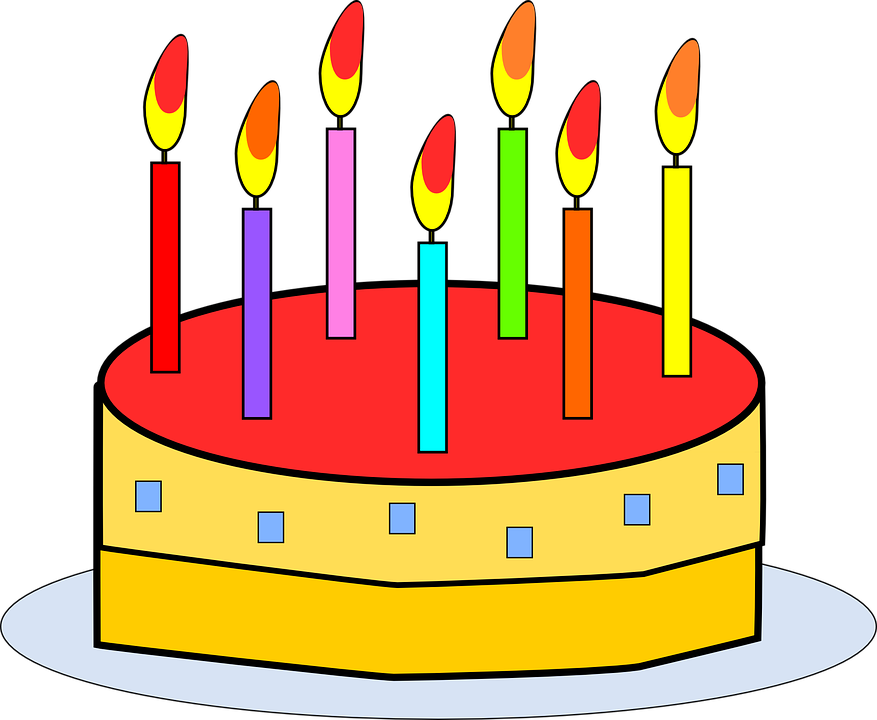 Birthday Cake Food Free Vector Graphic On Pixabay