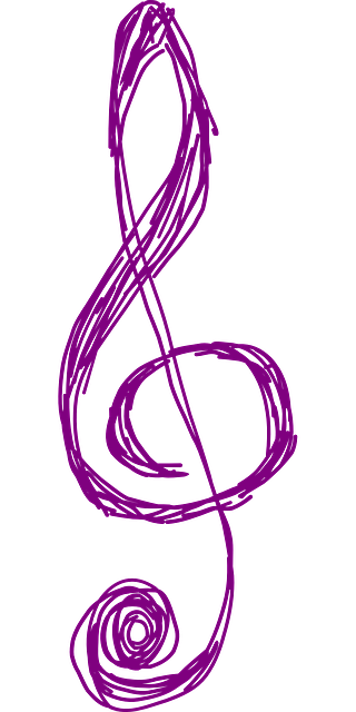 Clef Music Purple Free Vector Graphic On Pixabay