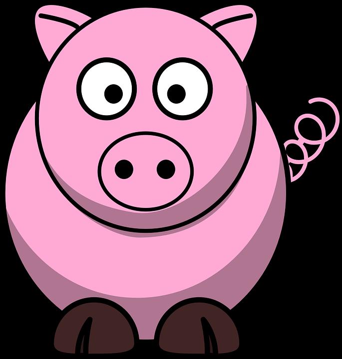 Cochon Image cochon rose des animaux · images vectorielles gratuites sur pixabay