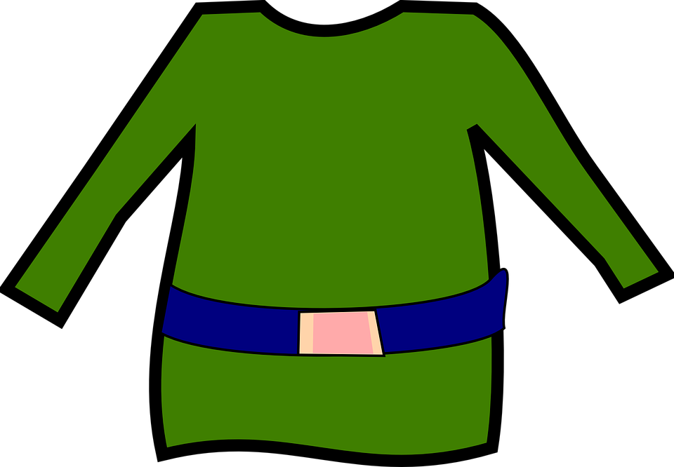 elf green shirt free vector graphic on pixabay