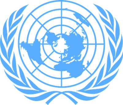 United Nations, Blue, Logo, Uno, Unicef