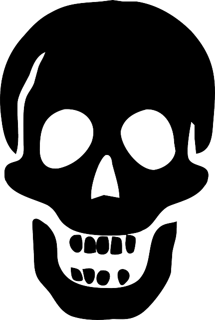 free vector graphic skull pirate death poison free