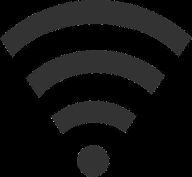 Wlan Signal Black · Free vector graphic on Pixabay