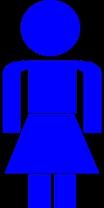 Donna Wc Bagno · Grafica vettoriale gratuita su Pixabay