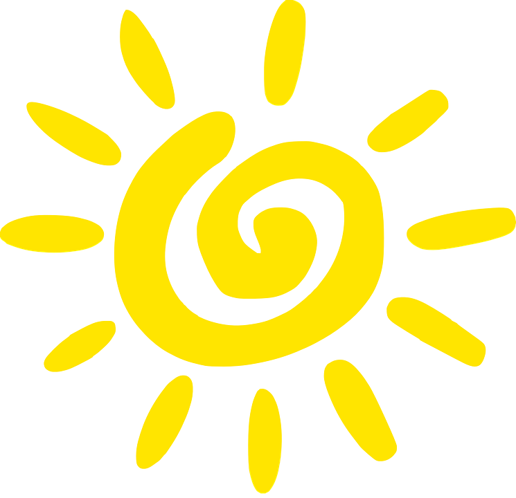 Sonne Gelb Spirale Kostenlose Vektorgrafik Auf Pixabay