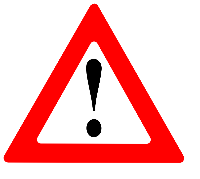 Attention, Warning, Sign, Danger, Symbol, Caution