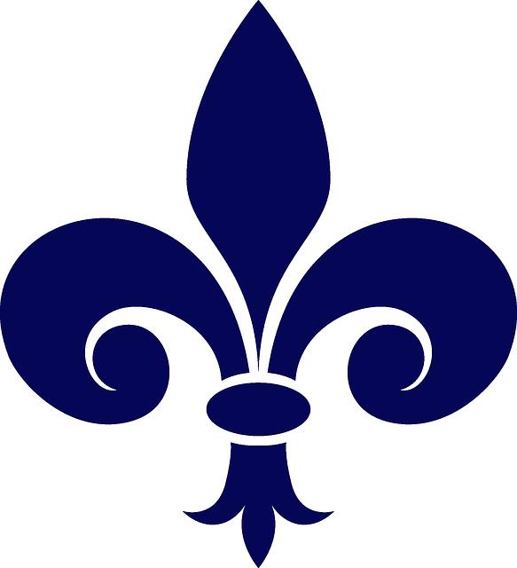 free vector graphic: fleur-de-lis, heraldry, navy - free image on