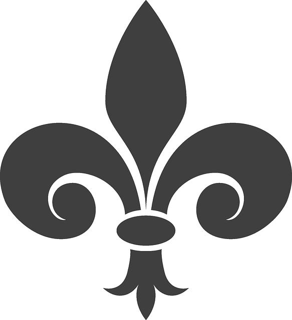 fleur de lis heraldry gray  u00b7 free vector graphic on pixabay fleur de lys gold free vector fleur de lys vector art