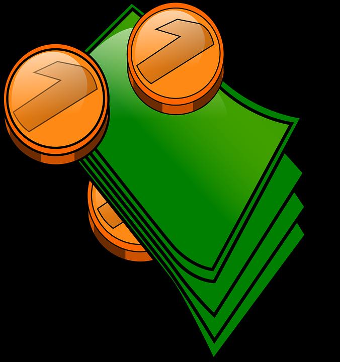 money dollars cent free vector graphic on pixabay rh pixabay com Computer Clip Art Money Clip Art Black and White