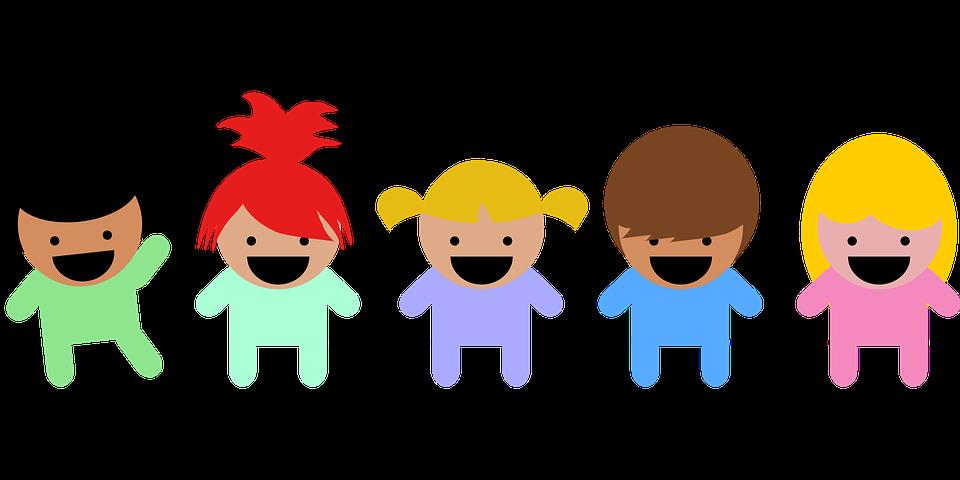 幼児, 乳幼児, 子供, 多民族, 多文化, 幸せ, 統一, グループ, コミュニティ, 陽気です, 若いです