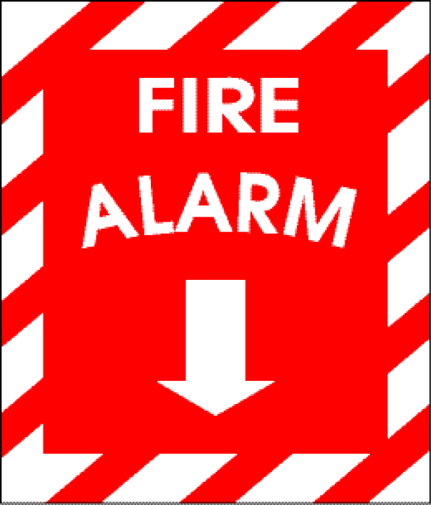 Free vector graphic: Alarm, Alert, Sign, Fire, Red, Icon - Free ...