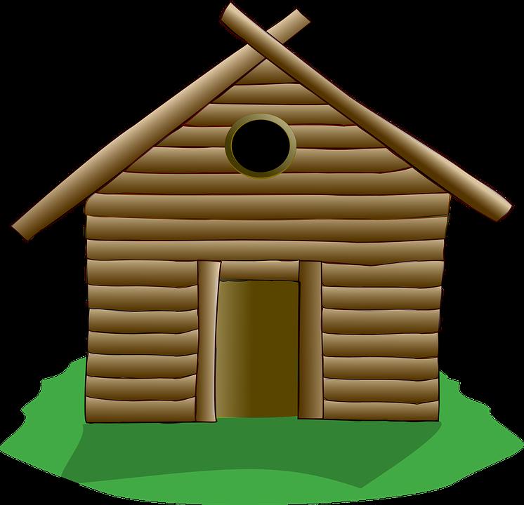 cabaa de troncos casa de madera