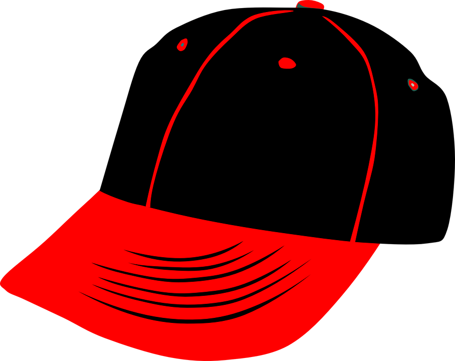 cap baseball hat free vector graphic on pixabay rh pixabay com baseball hat vector free blank baseball hat vector