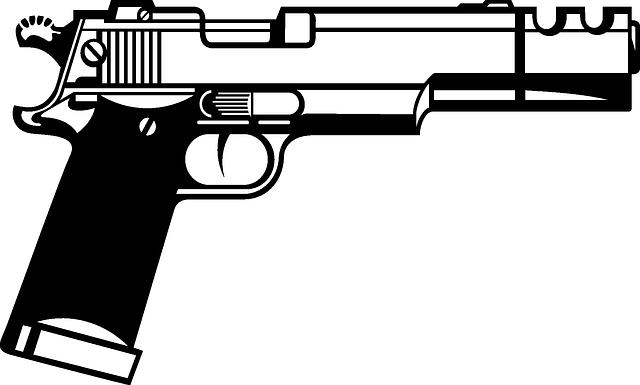 Free vector graphic: Handgun, Beretta, Semiautomatic ...
