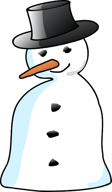 Free vector graphic: Snowman, Top-Hat, Nose, Carrot - Free Image on ...