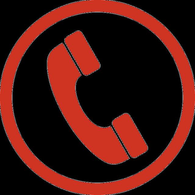 Teléfono Signo Símbolo · Gráficos Vectoriales Gratis En