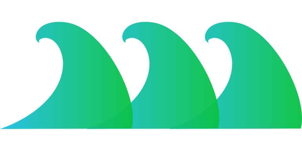 Waves Surf Ocean · Free Vector Graphic On Pixabay