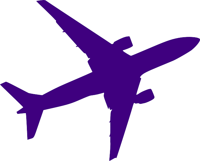 airplane silhouette purple  u00b7 free vector graphic on pixabay airplane graphic for powerpoint airplane graphic for powerpoint