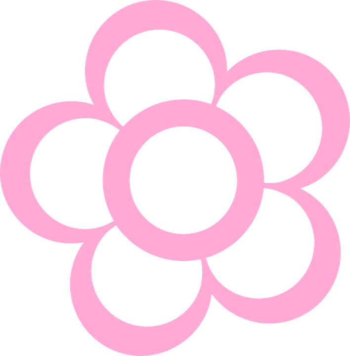 Daisy Flower Pink Free Vector Graphic On Pixabay