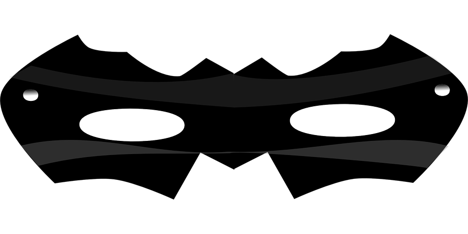 Maske Schwarz Kostüm · Kostenlose Vektorgrafik auf Pixabay