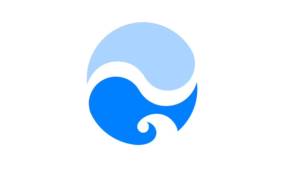 ocean yin yang design free vector graphic on pixabay rh pixabay com Cool Yin Yang yin yang graphic design