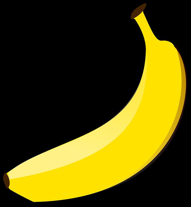 Free vector graphic: Banana, Yellow, Fruit, Food, Fresh ...