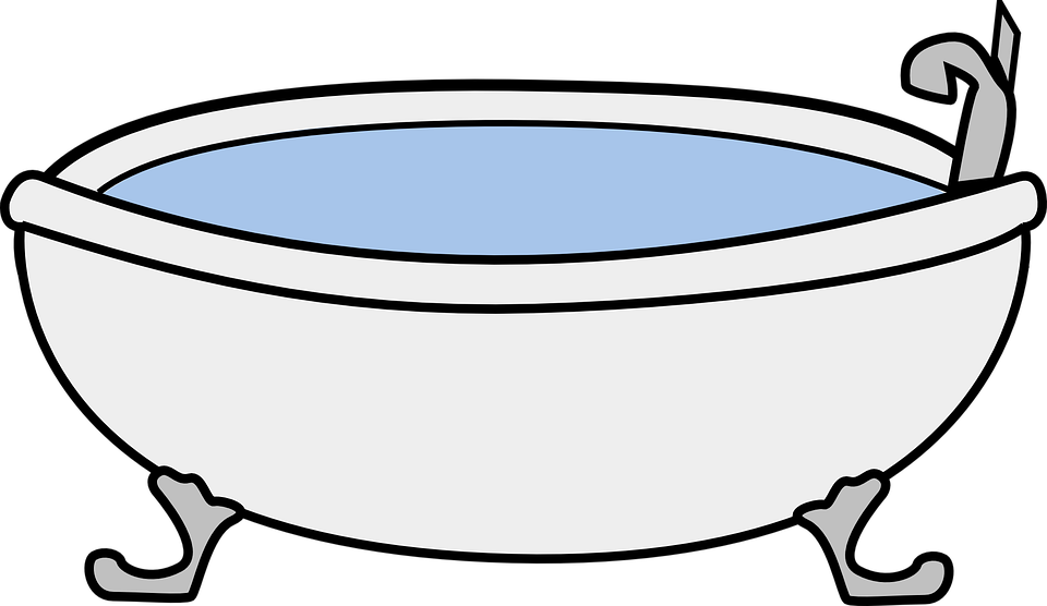 Bathtub Vintage Cartoon · Free vector graphic on Pixabay