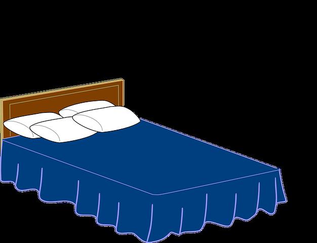 Кровать картинки нарисованные