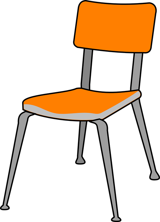 Chair plastic furniture free vector graphic on pixabay - Stuhl transparent ...