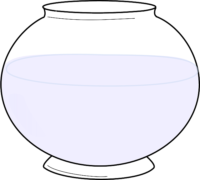 Fishbowl Empty Water 183 Free Vector Graphic On Pixabay