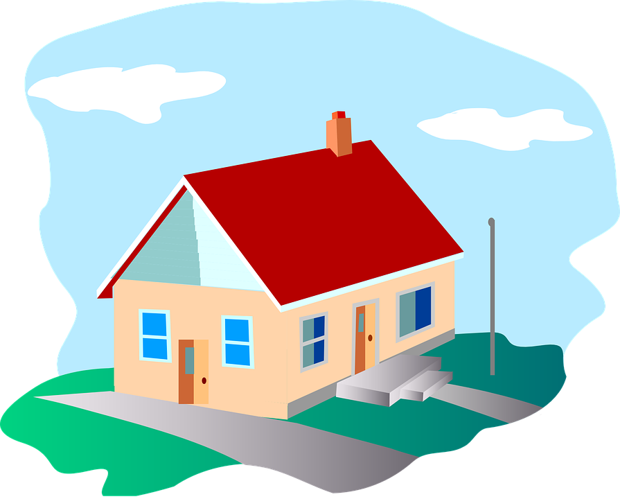 Free vector graphic: Home, Country, Rural, House, Estate ... House Graphic Png
