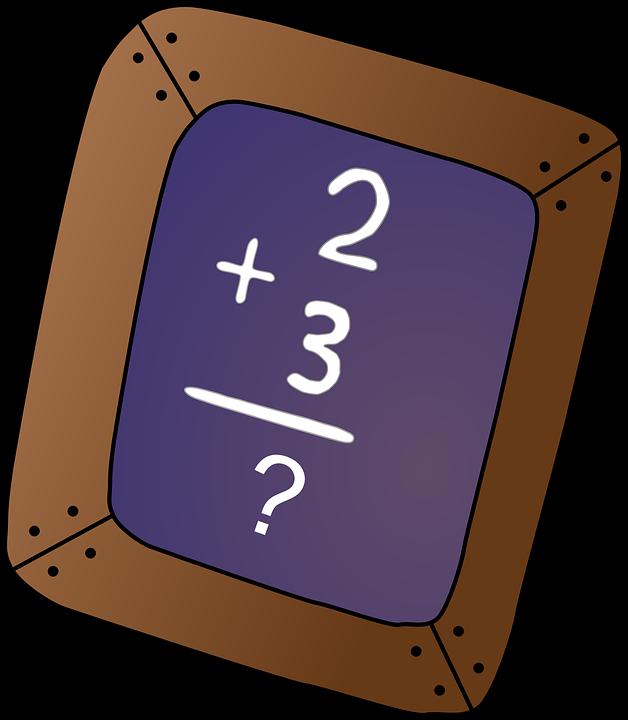 chalkboard math problem blackboard free vector graphic on pixabay rh pixabay com